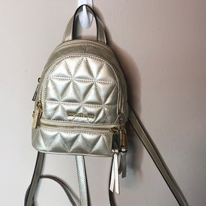 Michael Kors Mini Quilted Backpack
